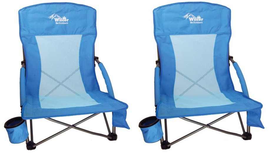 beach chairs with cup holders tullsta chair cover etsy 2 w holder smart phone pouch carry bag strap and smartphone
