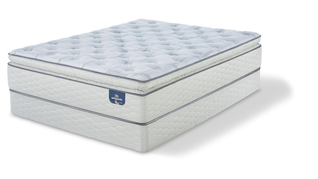 serta sertapedic carterson super pillow top firm mattress