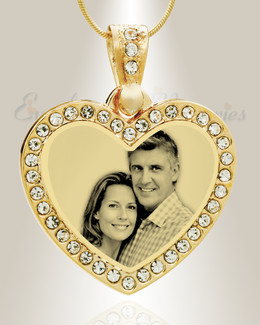 gift personalized photo necklace