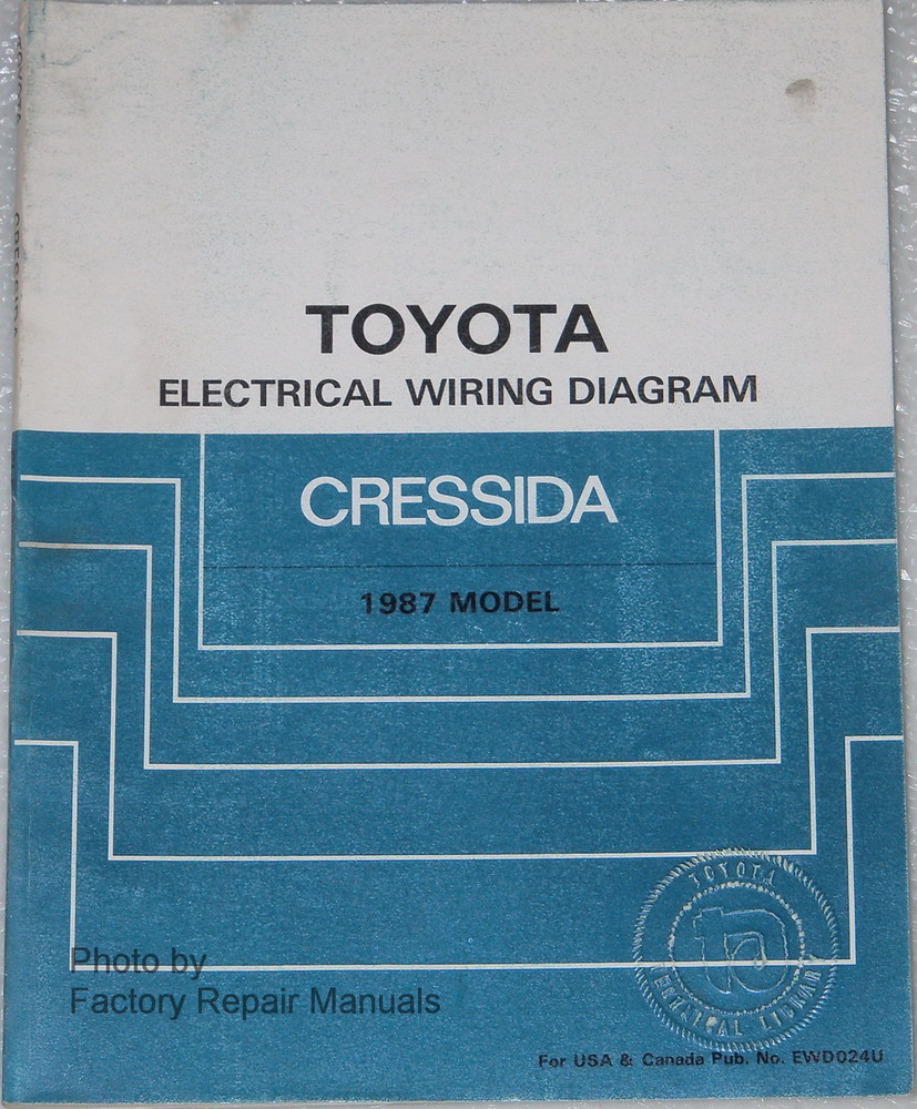 hight resolution of toyota electrical wiring diagrams cressida 1987 model