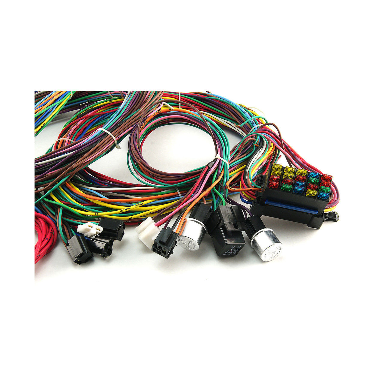 hight resolution of tlg universal 20 circuit wiring harness kit suit hot rod race car price 299 00 image 1 larger more photos