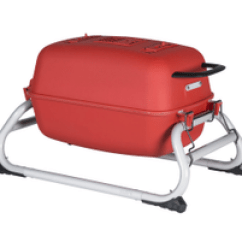 Portable Kitchen Carts With Wheels Pk Grills Charcoal Grill And Smoker The Original Pkgo Tailgate Matte Red Stainless Steel Cooking