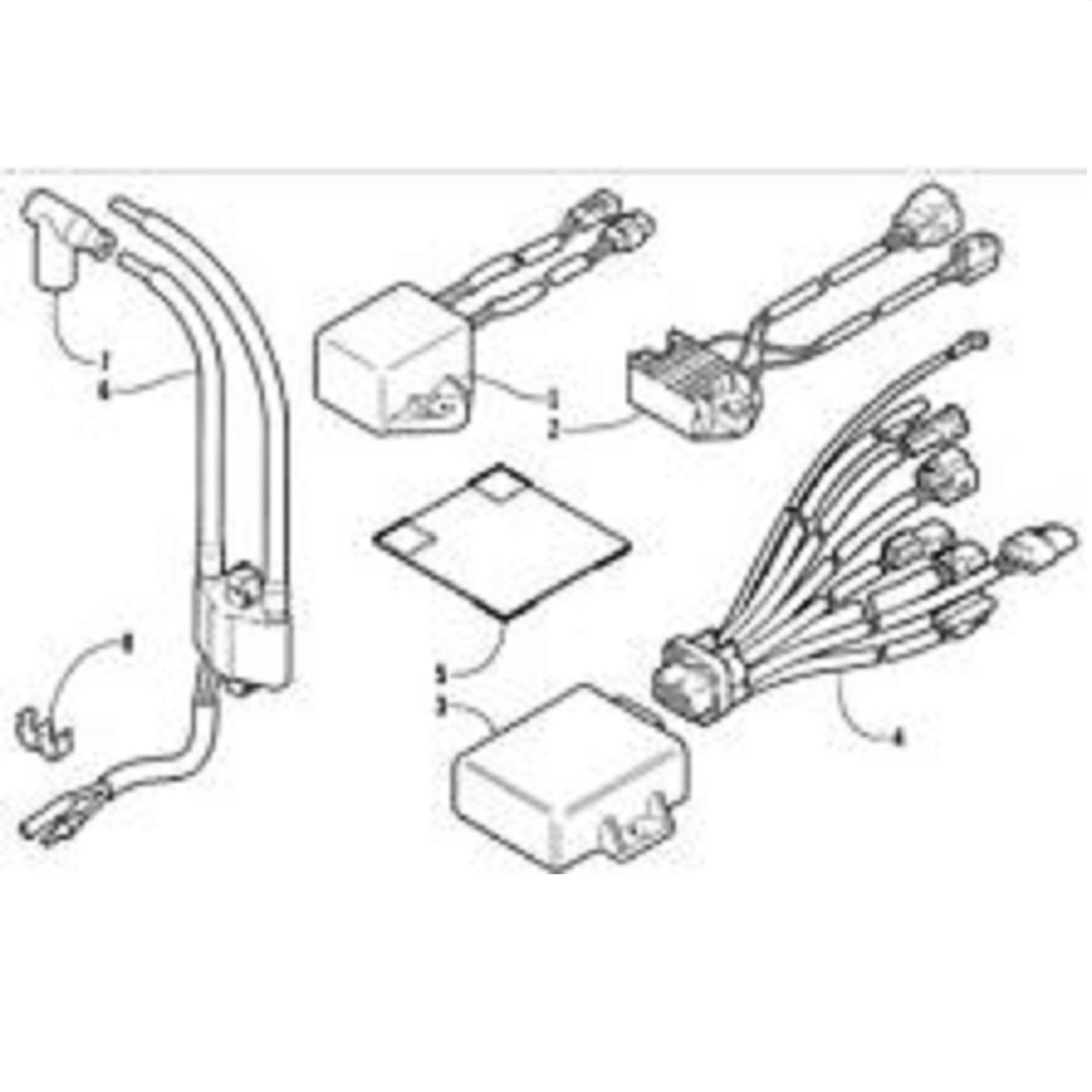 hight resolution of  wiring diagram arctic cat new oem cdi ignition unit 3006 479 mountain king zr 900 on arctic