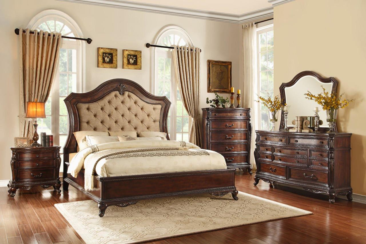 The Bonaventure Park Traditional Bedroom Set Sold At