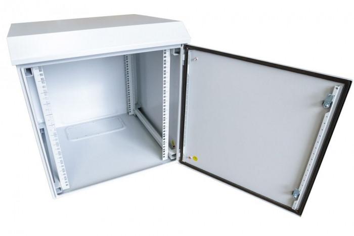 6ru 400mm deep outdoor dust proof wall mount server rack cabinet non vented ip65
