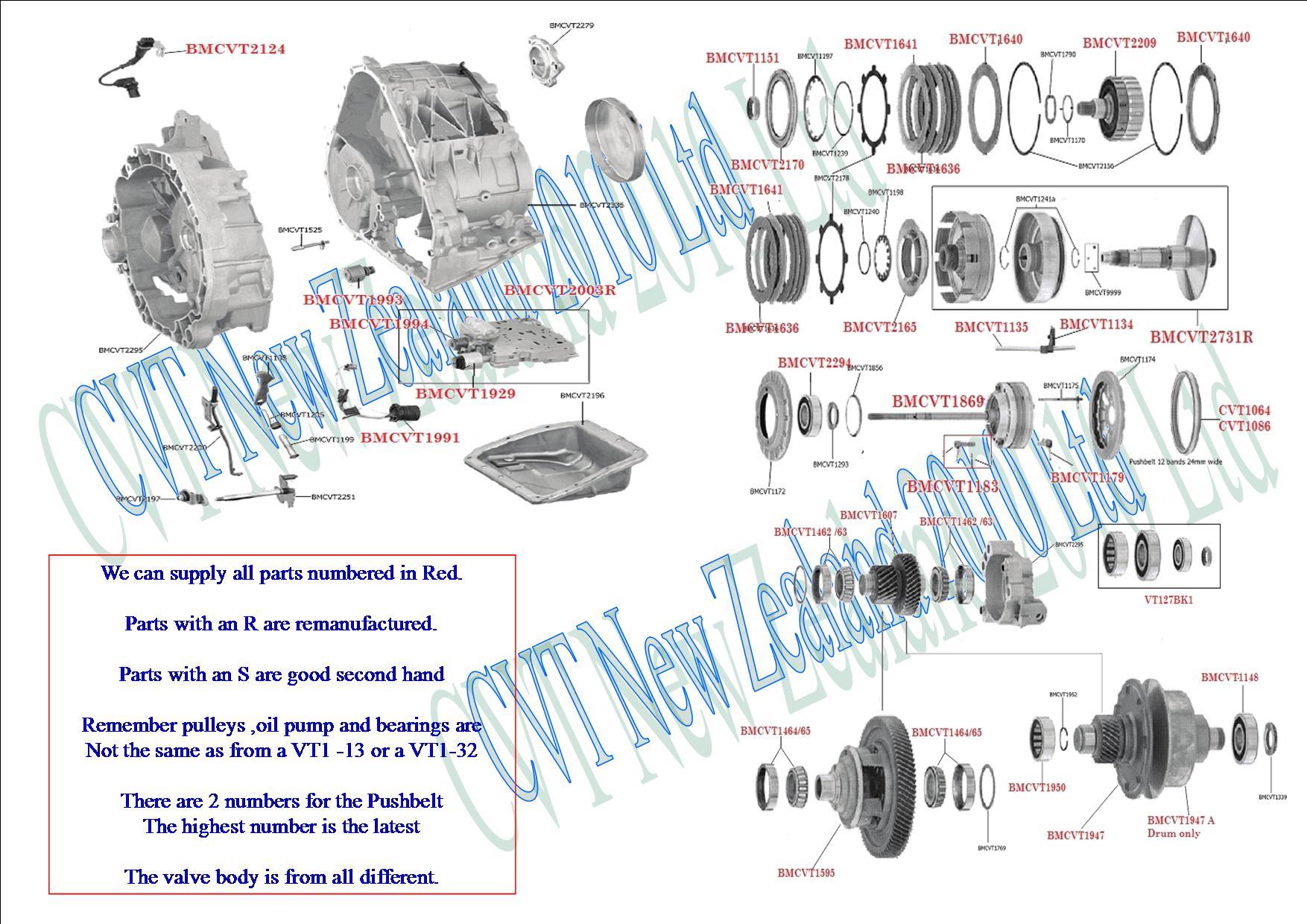 small resolution of bmw mini cvt transmission vt1 27 cvt transmission cvt parts limited subaru cvt transmission diagram