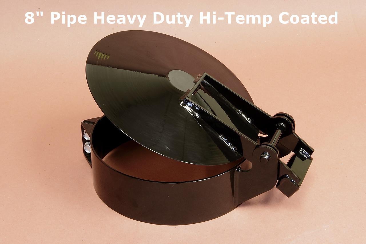 08 pipe hd raincap hi temp coated 8 5 8 id