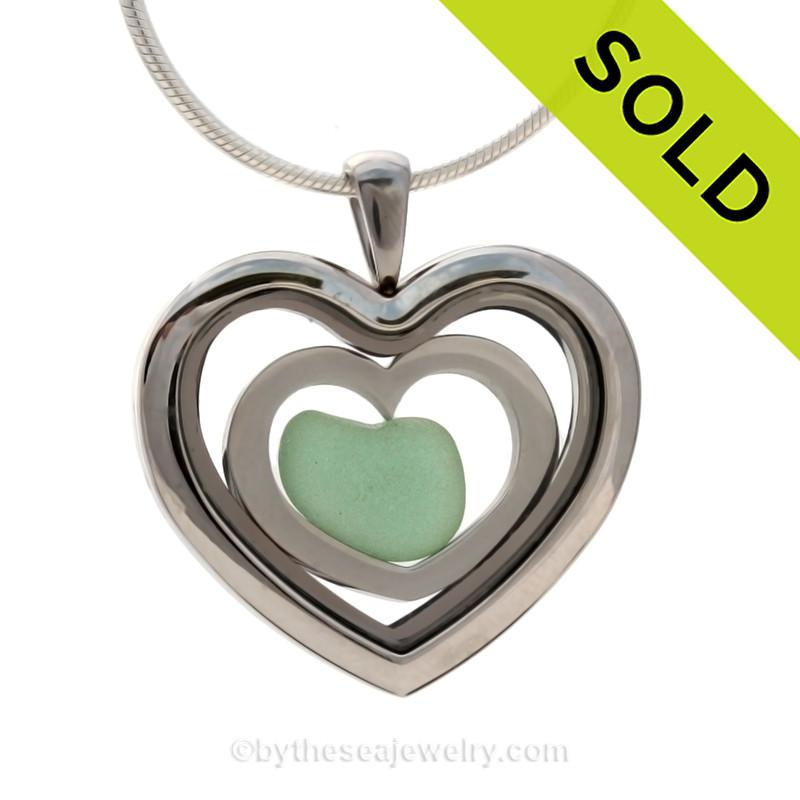 heart in heart aqua