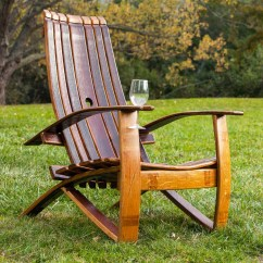 Wine Barrel Chair Twin Sleeper Adirondack Home All Products Image 1 Loading Zoom