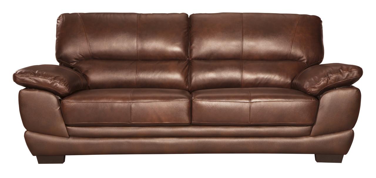 all leather sofa bed costco sofas reviews zane genuine brown pallucci furniture loading zoom