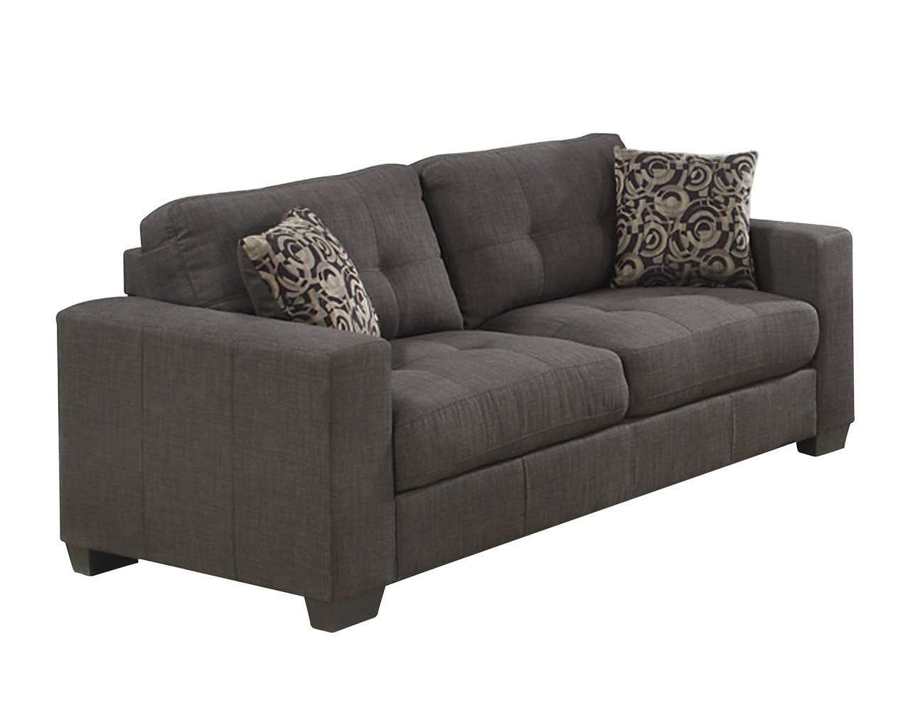 grey fabric sofa next antique chippendale value lacey pallucci furniture or couch in loading zoom