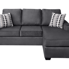 E Saving Sectional Sofas Best Quality Sofa Bed Canada Nordel Fabric Reversible Queen Pebble Pallucci Loading Zoom