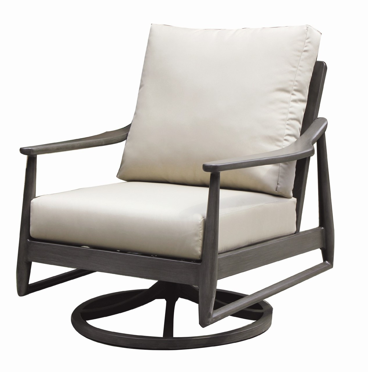 Swivel Rocking Chairs Ratana Bolano Swivel Rocking Lounge Chair