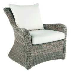 Kingsley Bate Amalfi Club Chair Large Rocking Cushion Sets Sag Harbor Outdoor Wicker Lounge