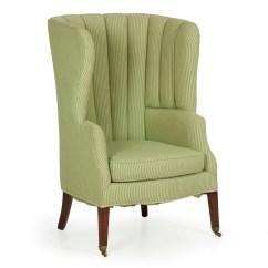 Barrel Back Chair Living Room Club Chairs English Georgian Mahogany Arm Zoom