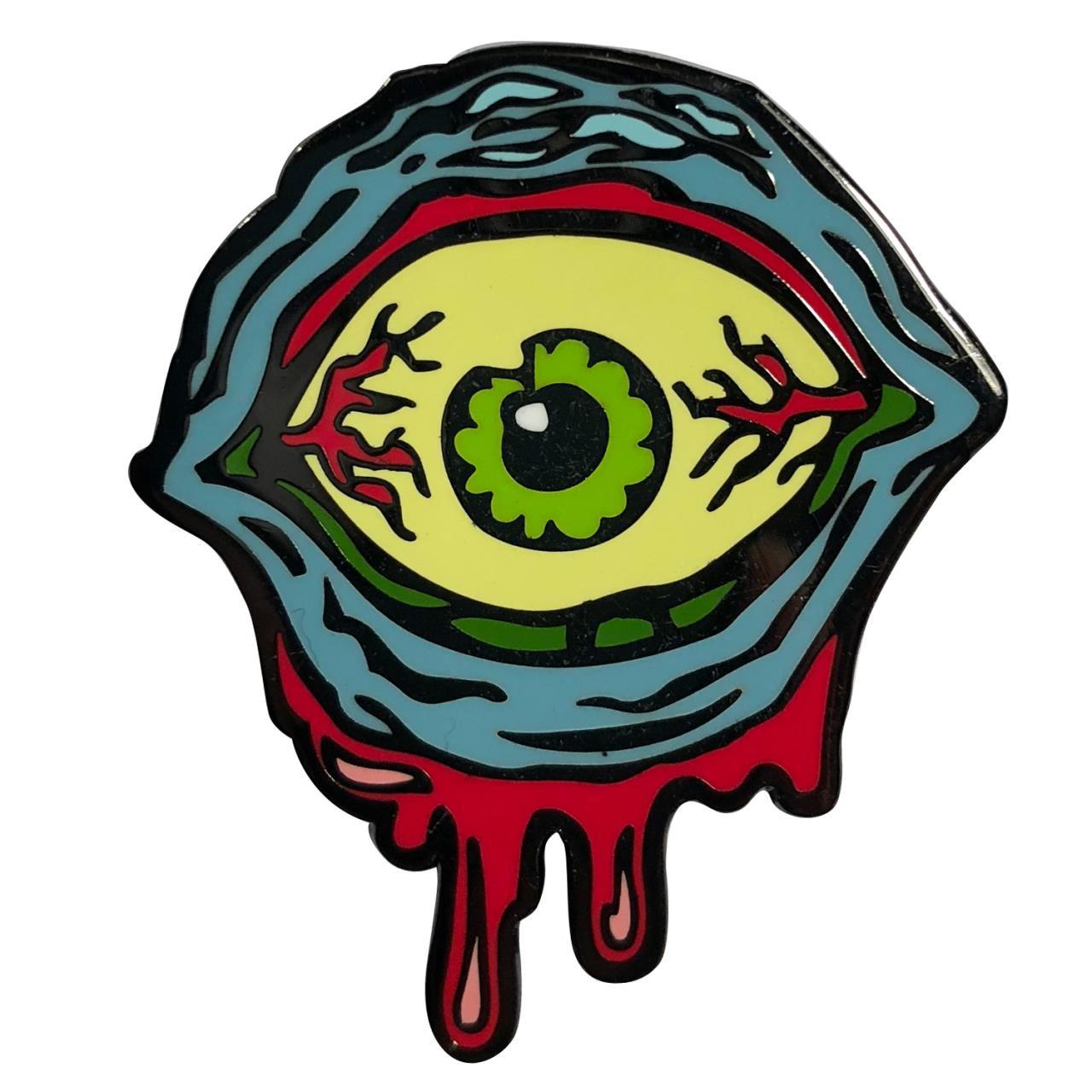 hight resolution of  monster eye enamel pin 0659682806389