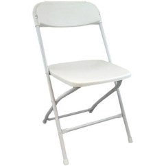 White Plastic Chairs Staples Chair Casters Lightweight Folding Foldable