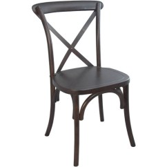 Black Cross Back Dining Chairs Ivory Banquet Chair Covers X Walnut