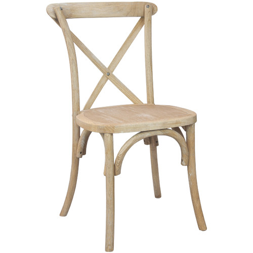 XBack Chair  Natural  Cross Back Chairs