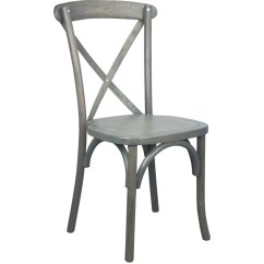 White X Back Chair Stool Nz Grey Cross Chairs