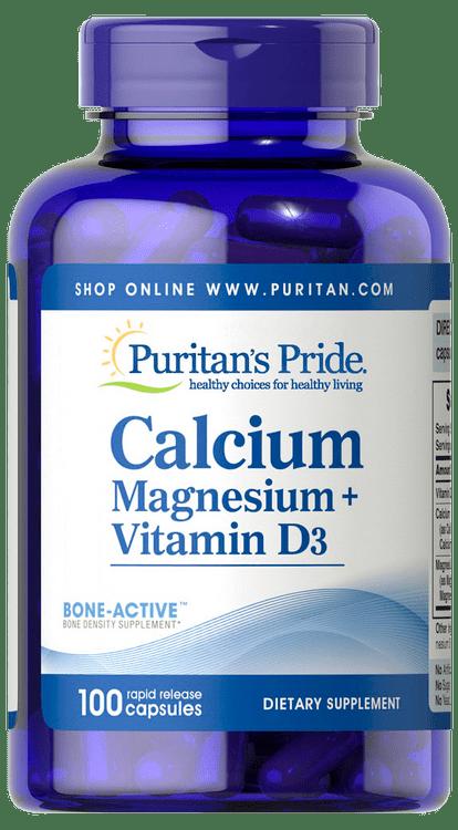 Item # 61407 / Calcium. Magnesium + Vitamin D3 100s 鈣、鎂、維他命D綜合配方100粒 - Zenith Pro HK