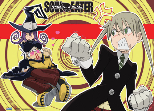 wall scroll soul eater two timing soul fabric poster art ge5326