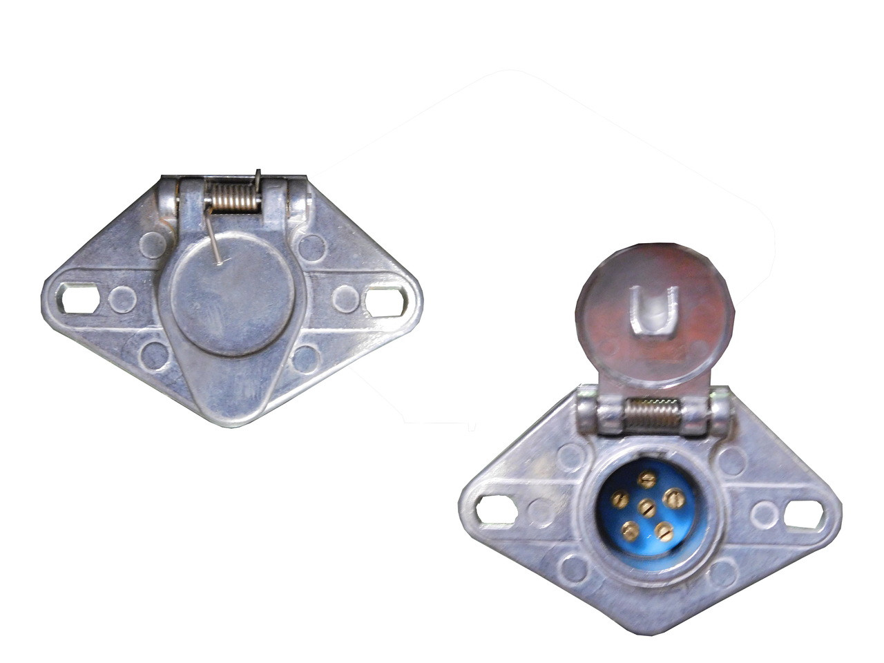 hight resolution of clearance 6 pin round trailer connector female price 8 99 image 1