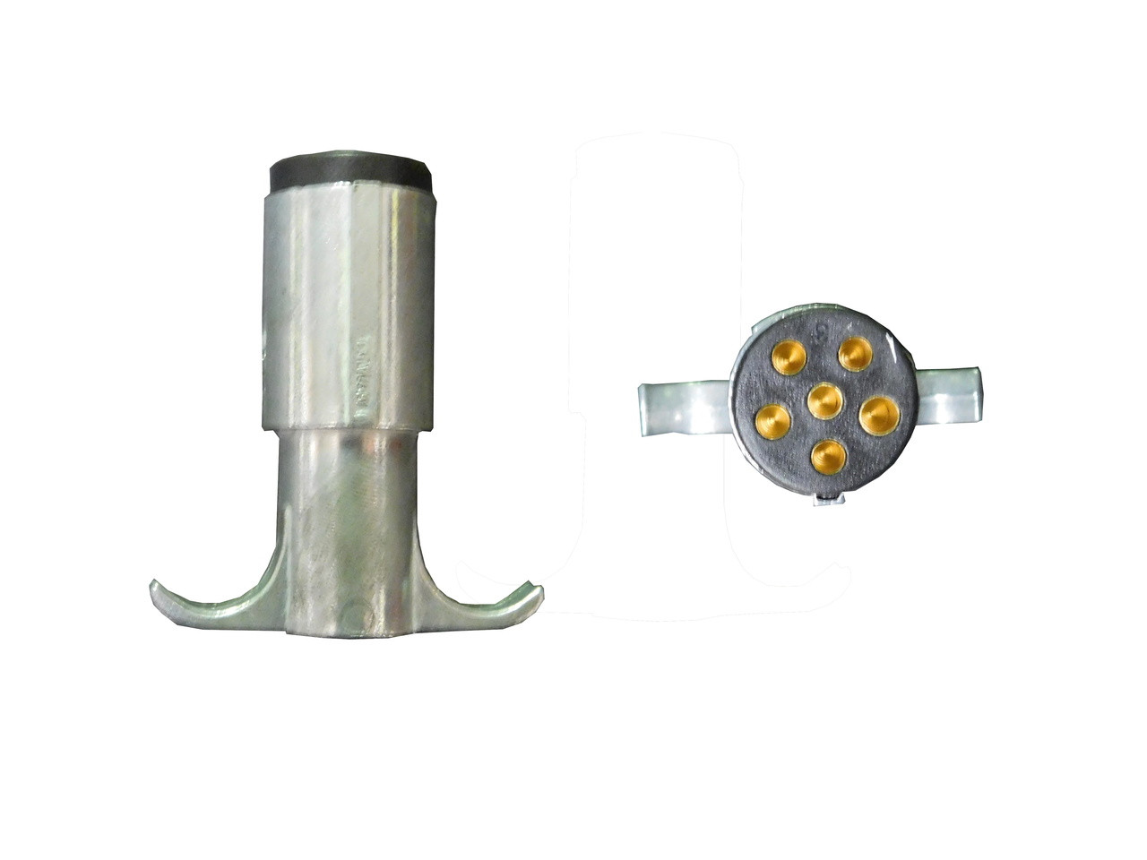 small resolution of clearance 6 pin round trailer connector male price 8 99 image 1
