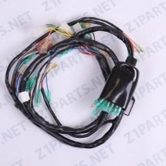 1979 Kawasaki Kz1000 Wiring Diagram Directv Genie 2 Parts Main Harness 26001 145 77 78 Image 1