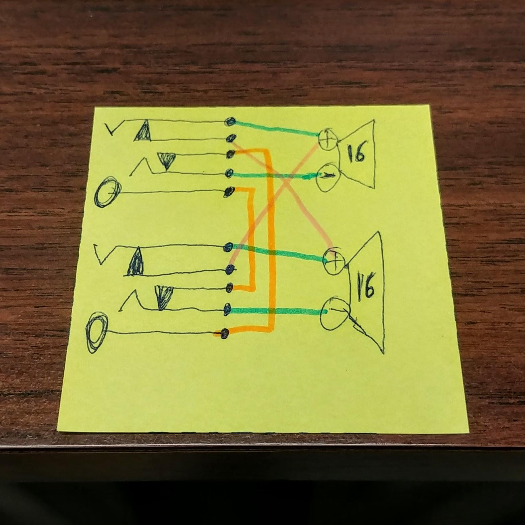 hight resolution of custom 2x12 cab wiring mono stereo no switch