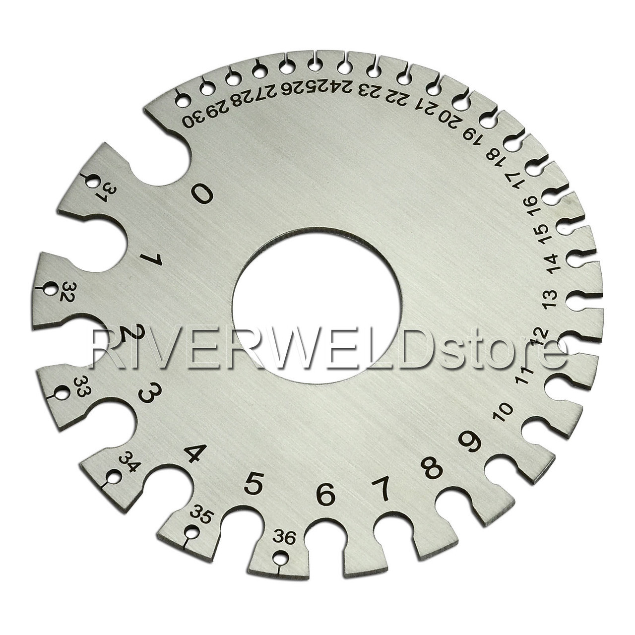 small resolution of  round wire gauge diameter gage welding inspection gauges image 1
