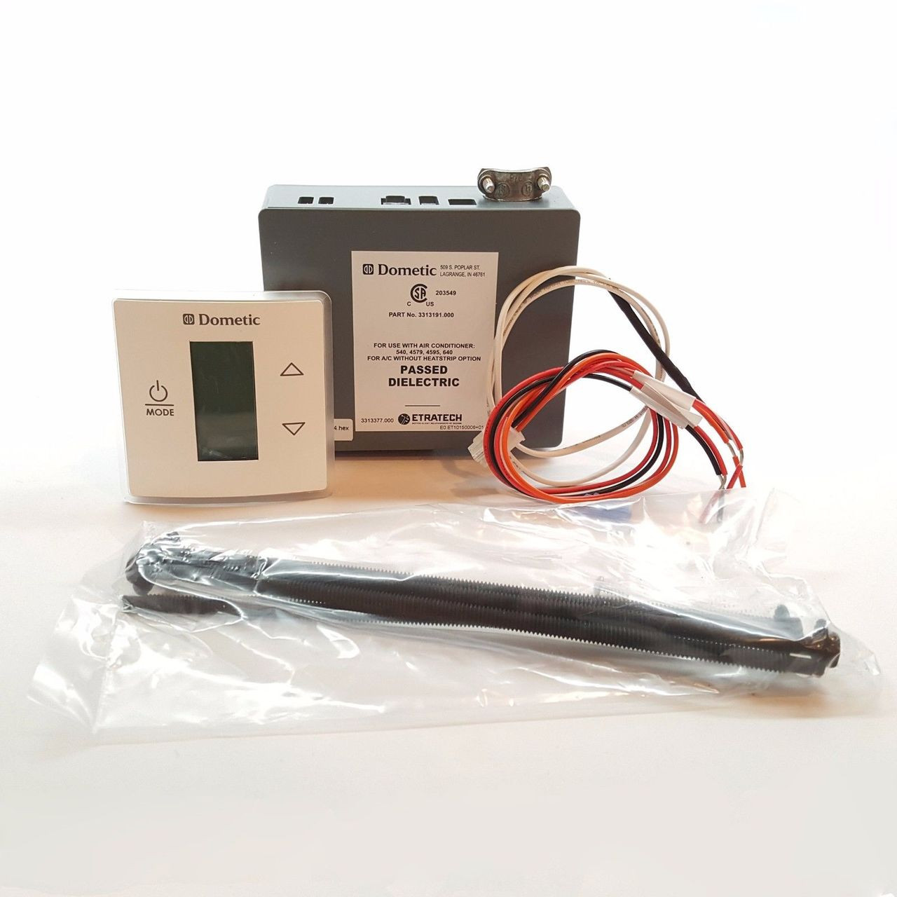 medium resolution of dometic single control kit lcd cool furnace white thermostat 3316230 000