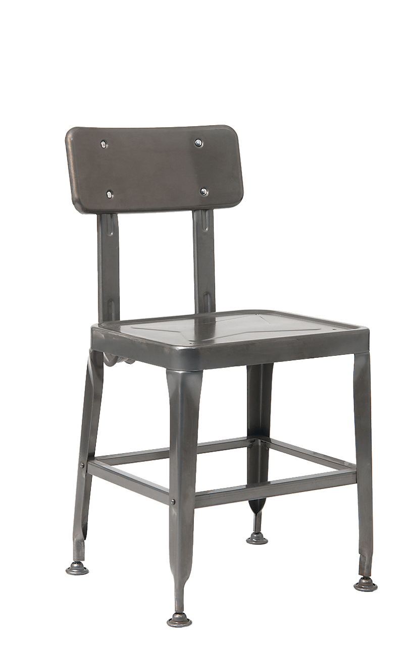 old metal chairs ashley furniture counter height table and vintage chair school style indoor in clear coating finish