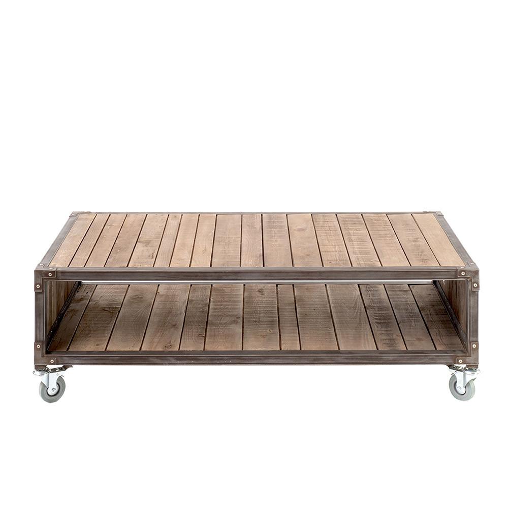 akato reclaimed wood coffee table