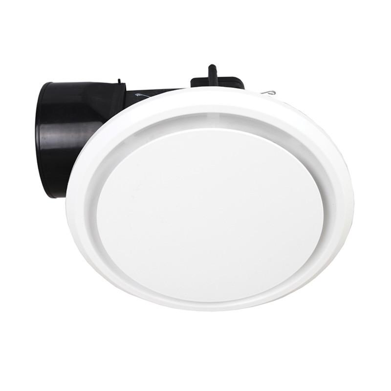mercator novaline ii round round white exhaust fan small