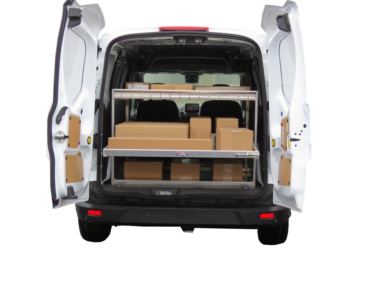 Brute Cargo Van Rear Sliding Shelf Organizer Worktrucksusa