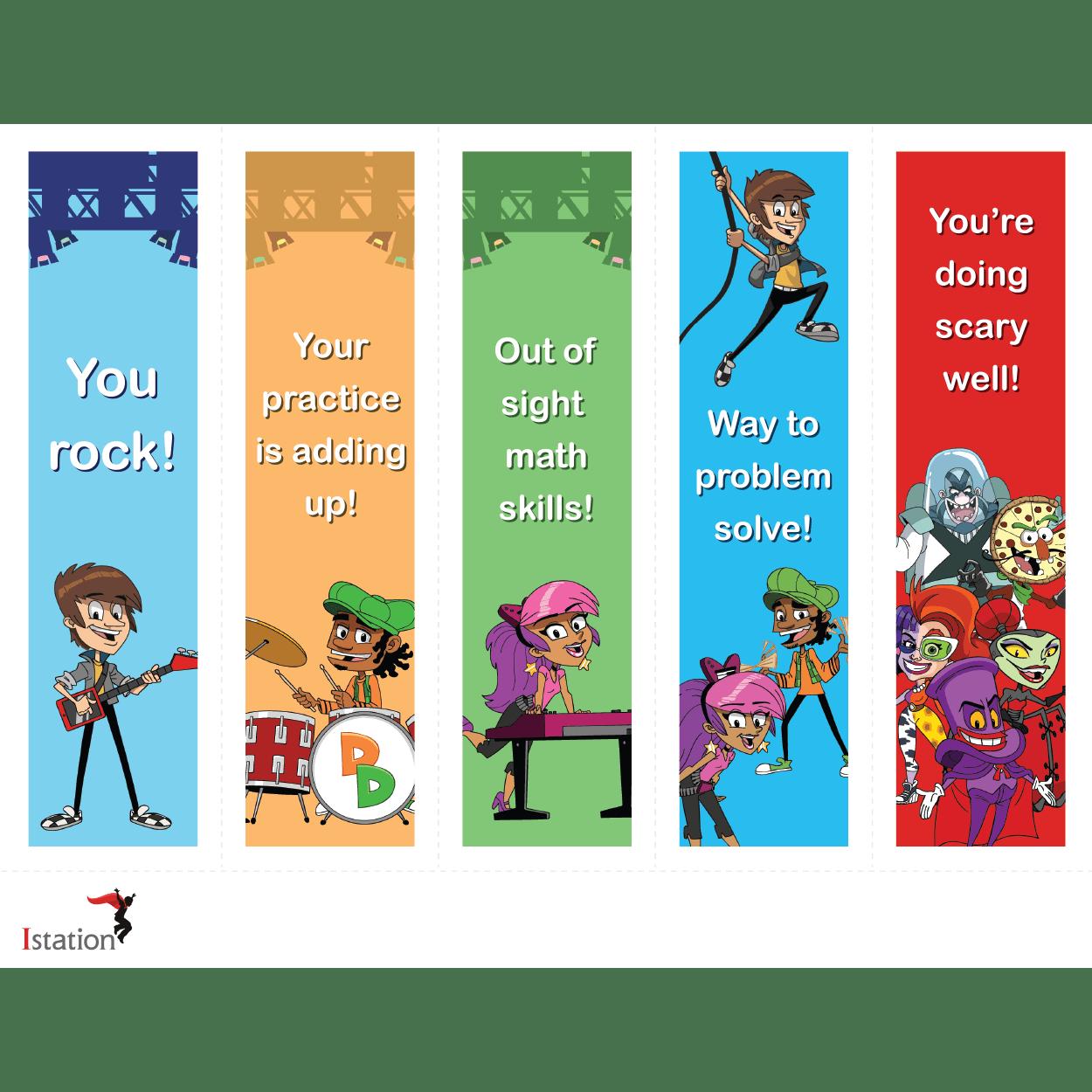math motivational bookmark download