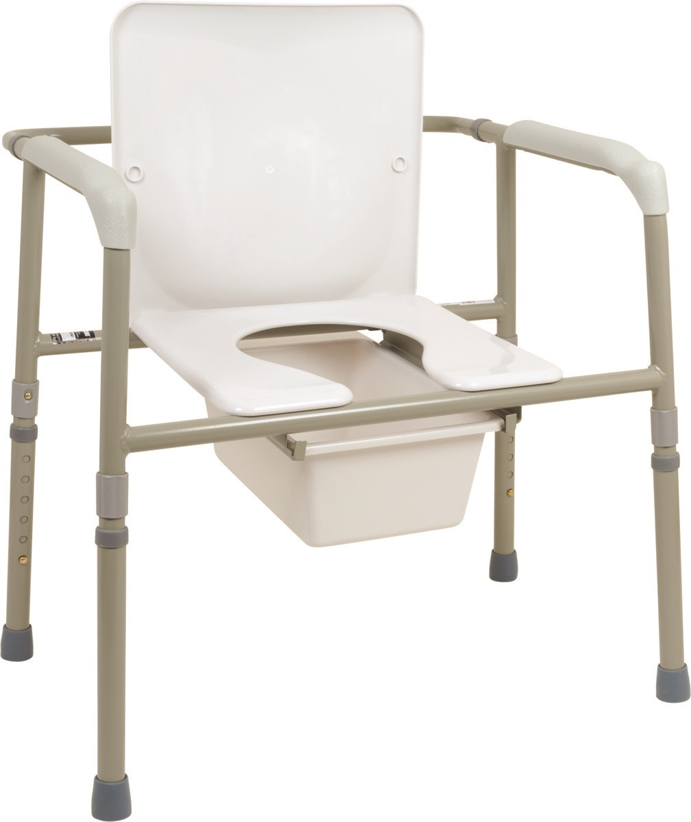 Bedside Commode Chair Probasics Heavy Duty Wide Commode Bsb31c