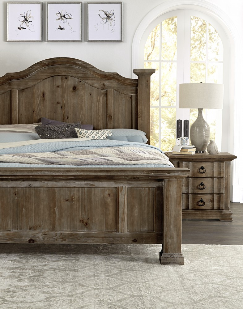poster rustic bedroom set free shipping