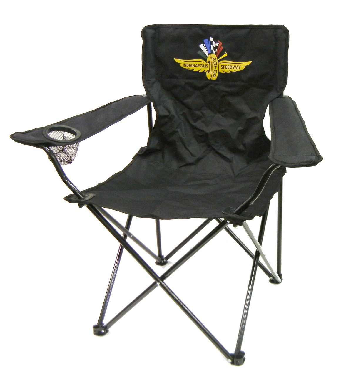 Collapsible Chair Wing Wheel And Flag Collapsible Quad Chair