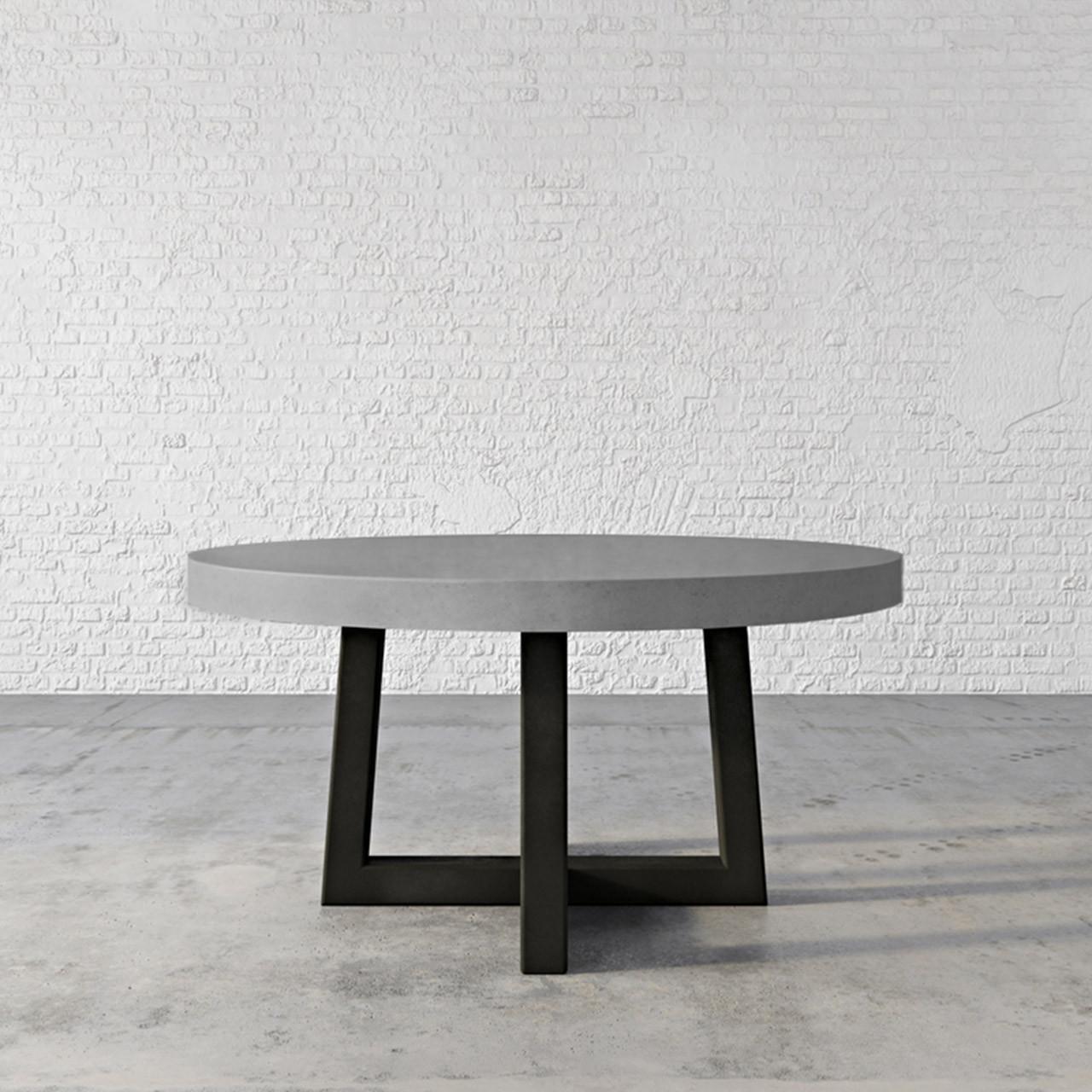 Custom Concrete Dining Table - Trueform