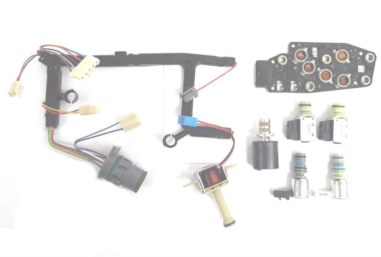 hight resolution of global transmission parts 4l60e electronic wiring harness kit for a 1996 to 2002 gm automatic transmission
