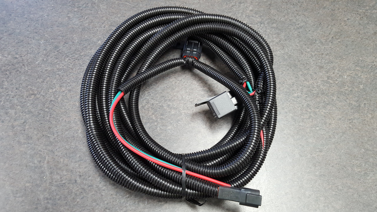 hight resolution of the wire harness w h is systems of electric wires for automobiles totmp wiring harness 20