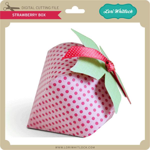 Download Strawberry Box - Lori Whitlock's SVG Shop