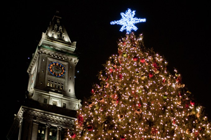 holiday events in boston 2017 tree lightings santa more