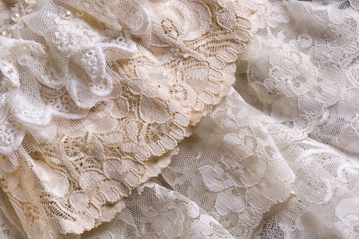 Wedding Gown Fabrics 101