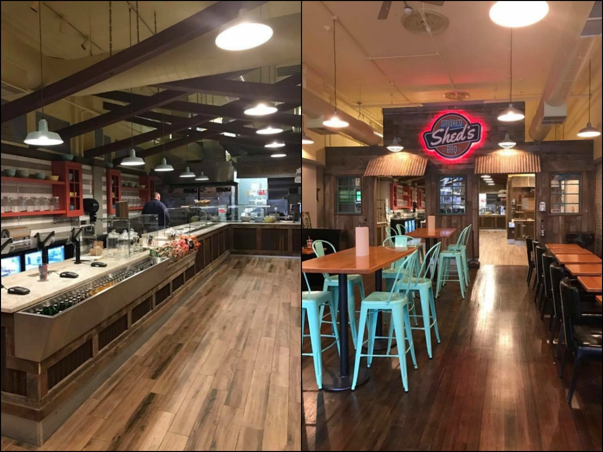 Sheds BBQ Opens This Week in Downtown Crossing
