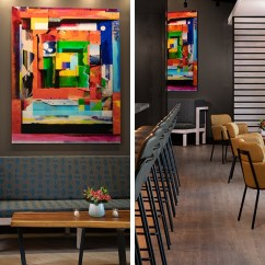 Living Room Boston Large Rugs For First Look At Alcove Now Open Near North Station The Has Comfortable Sofas And Low Tables Plus Colorful