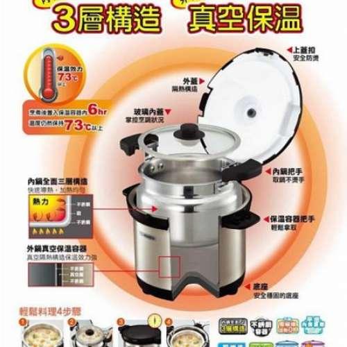 二手 Zojirushi 象印牌 6L SN-XAE60-XA 不銹鋼真空保溫煲 可電磁爐加熱 - DCFever.com
