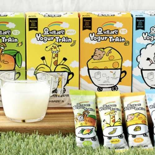 Yogurtrain 乳酪火車 韓國即沖益生菌乳酪 - DCFever.com